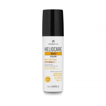 heliocare 360o color gel oil free bronze 50ml