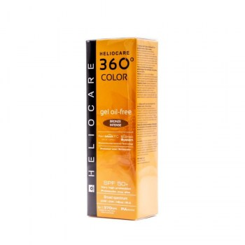 heliocare 360o color gel oil free bronze intense 50ml