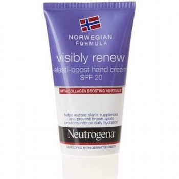 neutrogena crema manos visibly renew elasticidad intensa 75 ml